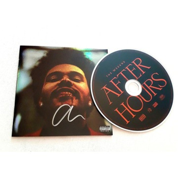 The Weeknd After Hours ORYGINALNY AUTOGRAF! certyf