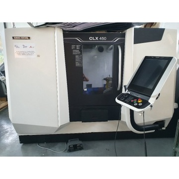 Tokarka numeryczna CLX 450 DMG MORI 4 osie ,3D