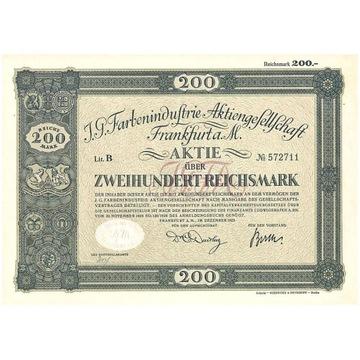 Przemysł farbiarski - Frankfurt a. M. 1925 r.