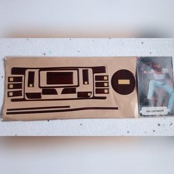 Okleina licznika,deski FIAT 126P EL,FL drewno