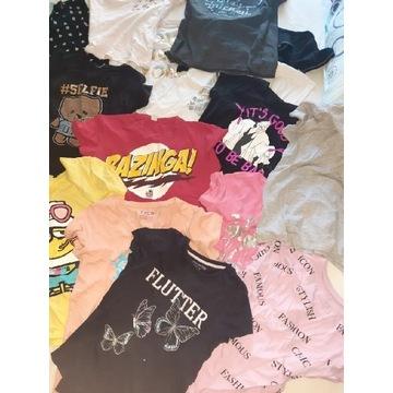 Zestaw paka ubrań dla dziewczynki 12-14 lat