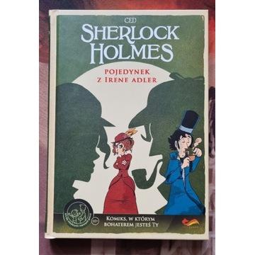SHERLOCK HOLMES POJEDYNEK  - komiks paragrafowy