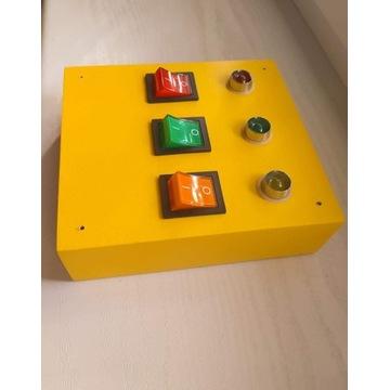 Światełka/diody element do tablicy manipulacyjnej