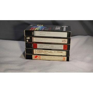 Zestaw kaset VHS Lektor G26