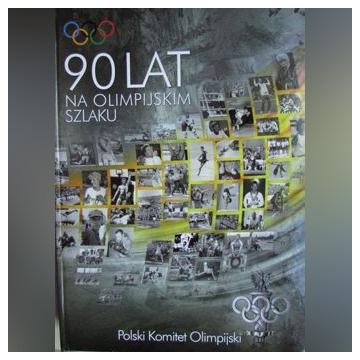90 lat na olimpijskim szlaku + płyta CD Album Nowy
