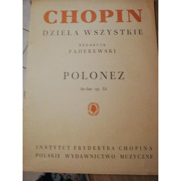 Polonez As-dur op. 53 Fryderyk Chopin