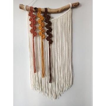 Makrama SPRING III dekoracja boho makatka łapacz