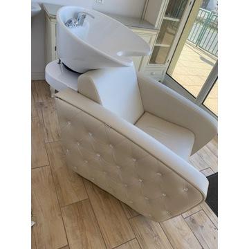 Meble fryzjerskie myjka + Krzesło z podnosnikiem