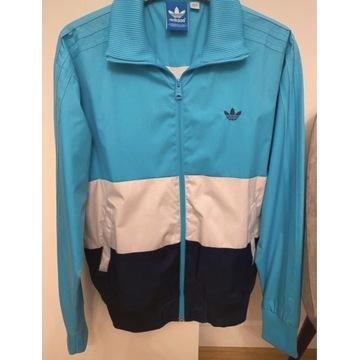 Trójkolorowa kurtka Adidas r. S