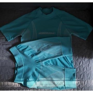 Zestaw koszulka i spodenki na rower roz. S 160 cm