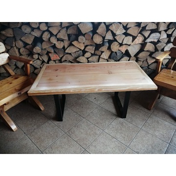 Ława, stolik kawowy Loft - handmade