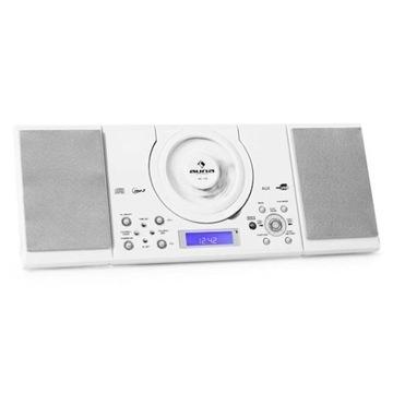 MC-120 Miniwieża MP3 CD USB biała