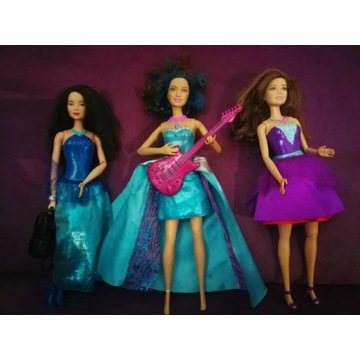Lalki Barbie tajne agentki i rockowa księżniczka