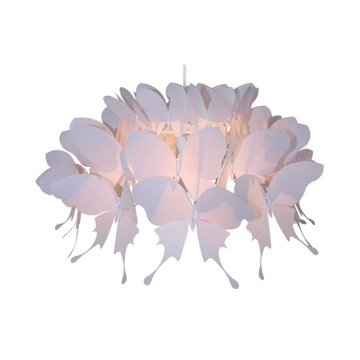 Lampa wisząca Farfalla Różowa E27