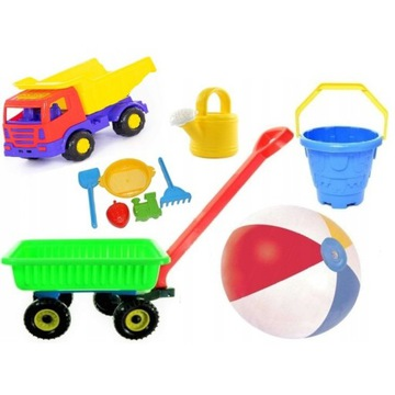 Zabawki do piasku piaskownicy na plażę dla dzieci