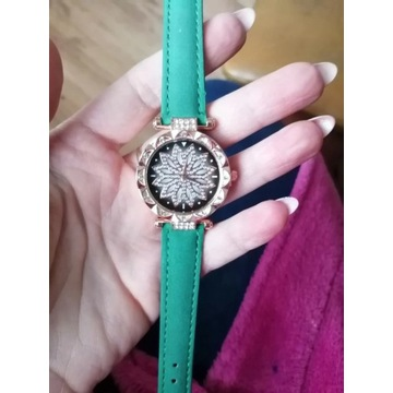 Piekny stylowy zegarek dla Pań LICYTACJA od 1zł