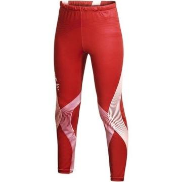 Czerwone spodnie męskie CRAFT! z Norwegii L sport