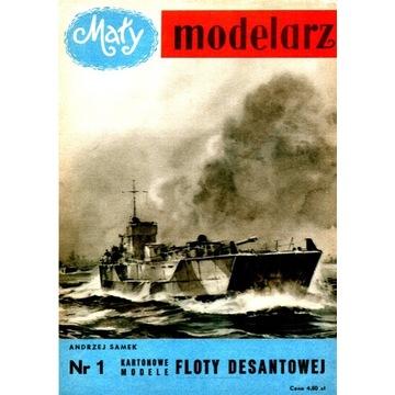 Mały modelarz 1957.01 - Flota desantowa 15 zł