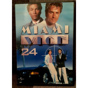 Miami Vice 24 DVD odcinek 47 i 48