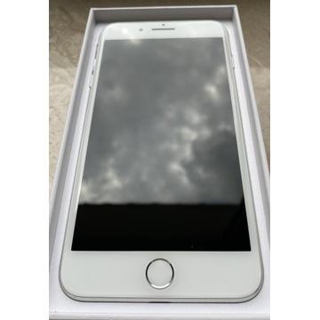 iPhone 8 Plus 256 GB Silver przód i tył bez rysy
