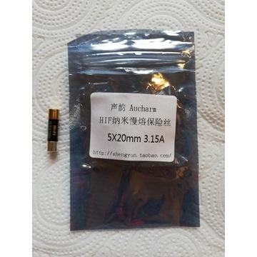Aucharm Nano Black 5*20mm 3.15A