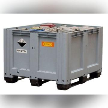 Zbiornik na zużyte akumulatory poj. 610 l CEMO