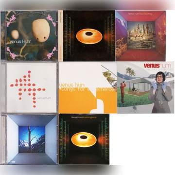 VENUS HUM - KOLEKCJA 8 CD - SYNTHPOP