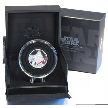 Star Wars DARTH VADER 2oz silver.999 Niue 5$ 2017