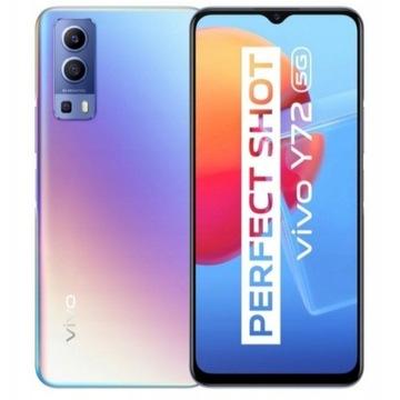 NOWY Smartfon Vivo Y72 + 2x etui + szkło