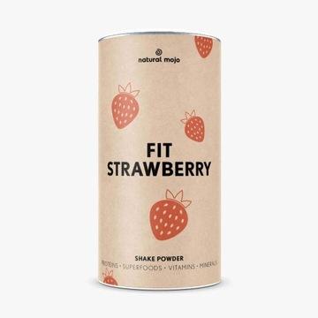 Natural Mojo Promocja!Fit Strawberry, truskawka