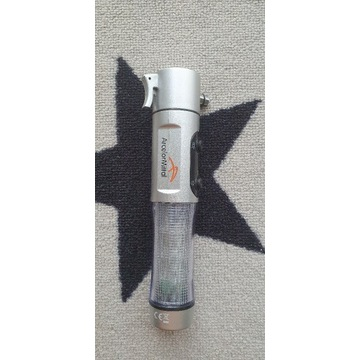 Latarka turystyczna Emergency Light with Hammer