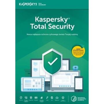 Kaspersky Total Security 1 ROK / 1 PC