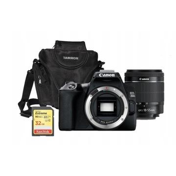 Aparat Canon EOS 250D obiektyw 18-55mm DC III