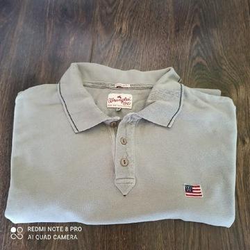 Koszulka polo t-shirt Wrangler rozm M plus gratis