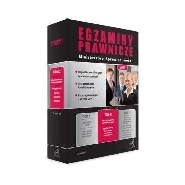 Egzaminy Prawnicze MS 2020 C.H.BECK Tom 2