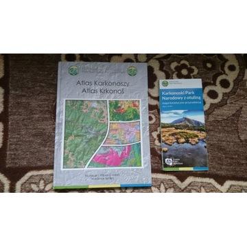 Atlas Karkonoszy UNIKAT 2021 rok + mapa KPN