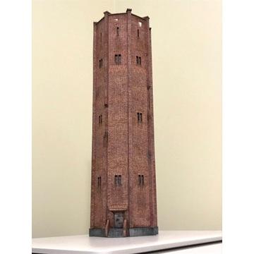 Wieża ciśnień w Goleniowie - (pdf) skala H0 1:87