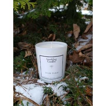 Your turn - świeca zapachowa sojowa naturalna eko