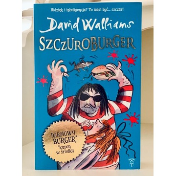 David Walliams SZCZUROBURGER