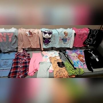 Zestaw ubrań dla dziewczynki 134 r