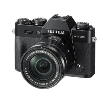Aparat cyfrowy FUJIFILM X-T20 + XC 16-50mm NOWY!