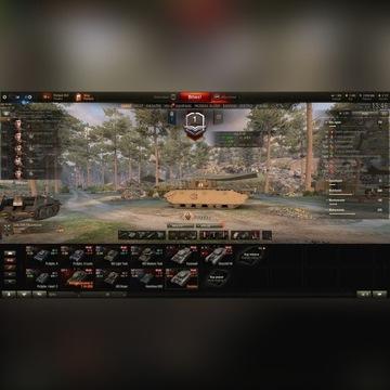 Konto WoT World of Tanks sam wybierzesz 3 czołgi!