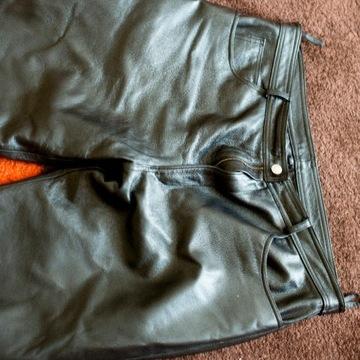 Skórzane spodnie motocyklowe 170/90