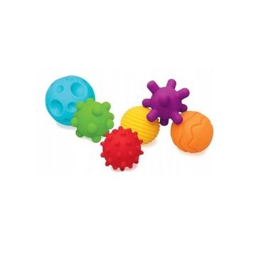 Infantino Sensoryczne Zabawki 6 szt.