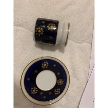 Mlecznik Weimar porcelana kobalt
