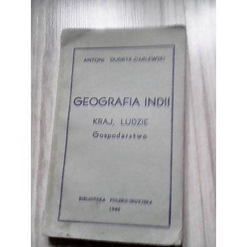 GEOGRAFIA INDII / DUDRYK