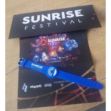 Bilet 3 dni na sunrise festival 2022.