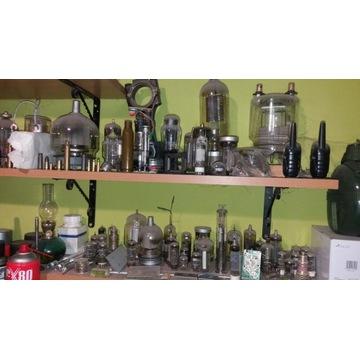 Kolekcja lamp elektronowyh