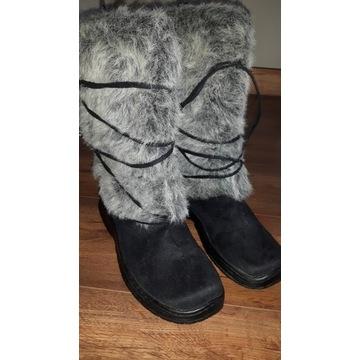 Buty zimowe śniegowce roz. 40