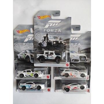 Hot Wheels Forza Motorsport Zestaw Set 5 Aut